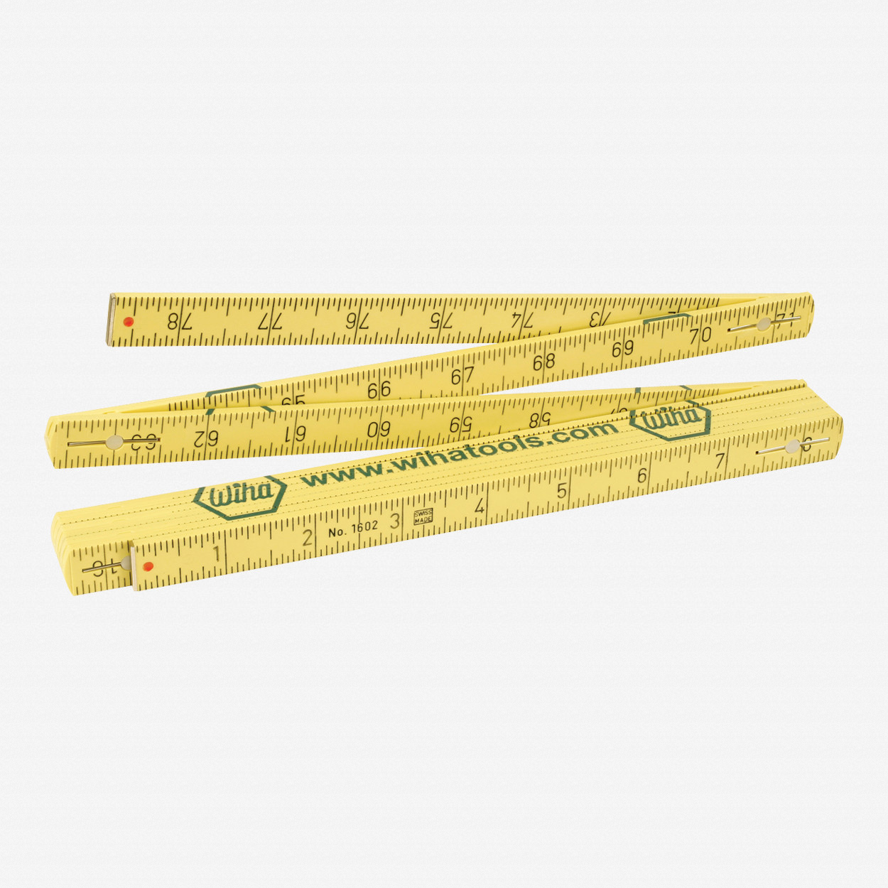 Wiha 61662 MaxiFlex Folding Ruler Metric/Inch - KC Tool