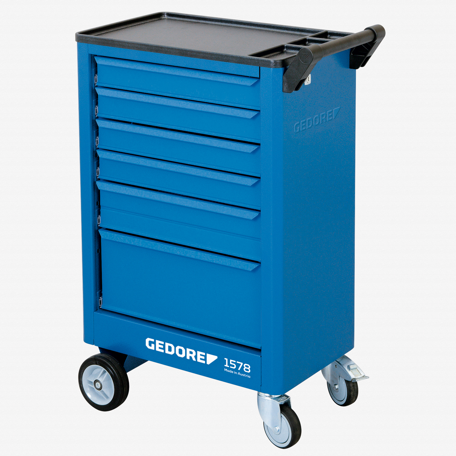 Gedore 1578 Tool trolley with 6 drawers - KC Tool