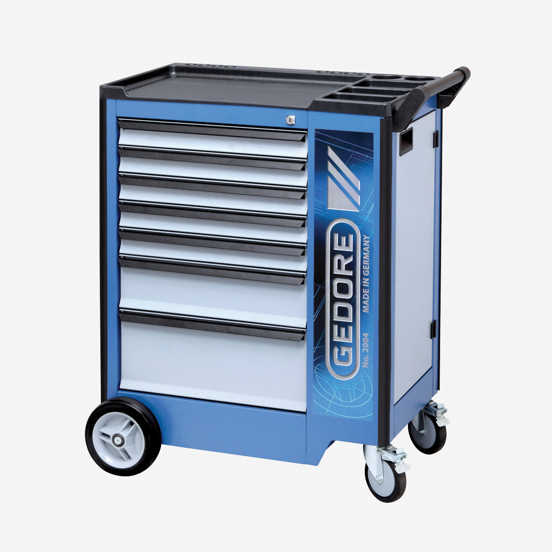 Gedore 2004 0511 Tool trolley with 7 drawers - KC Tool