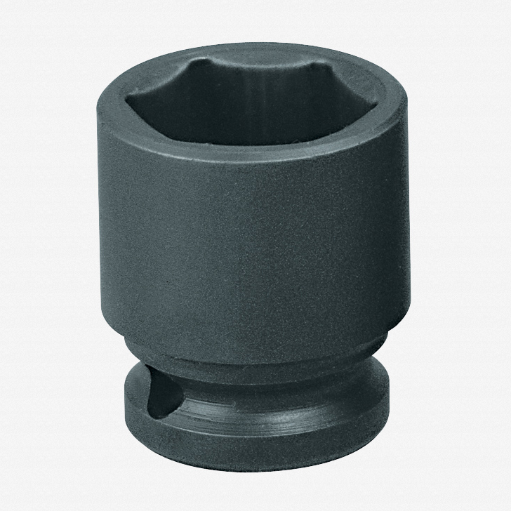 "Gedore K 19 17 Impact socket 1/2"" hex 17 mm - KC Tool"