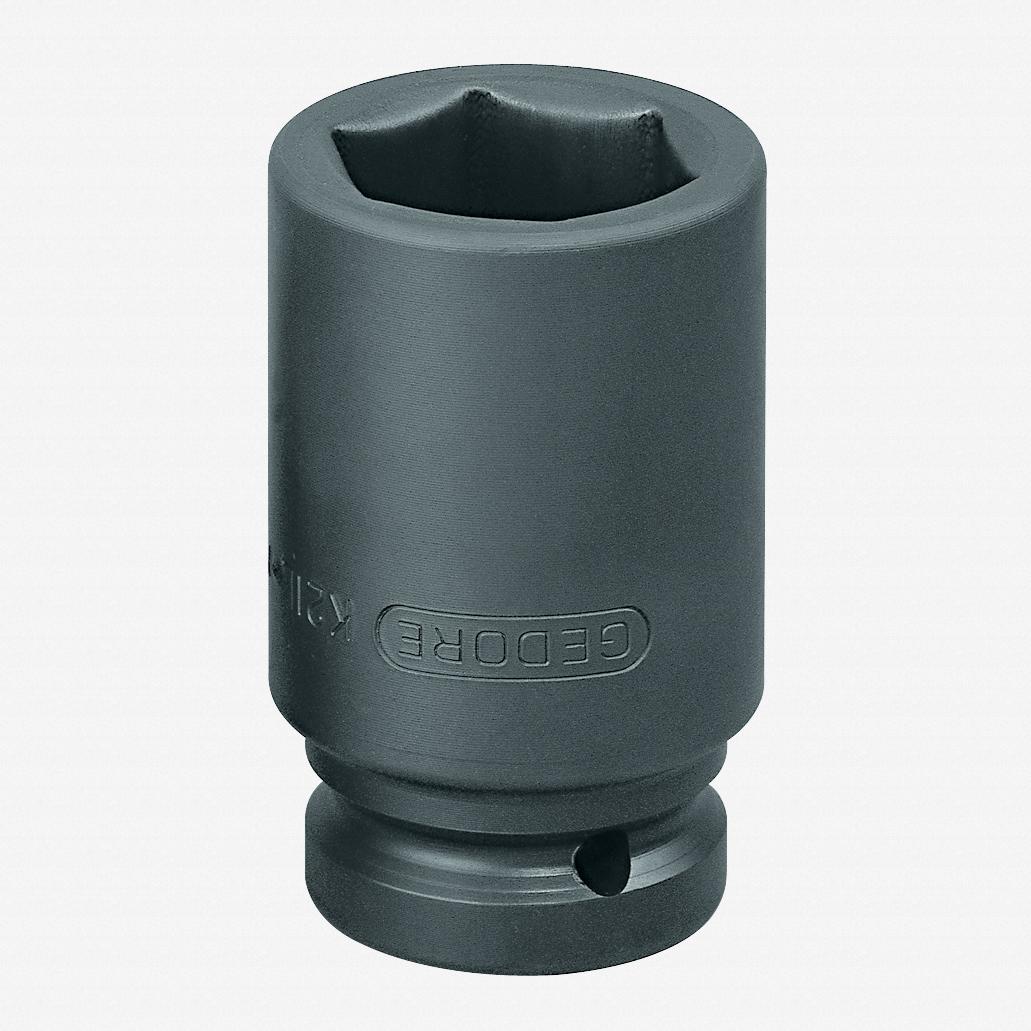 "Gedore K 21 L 24 Impact socket 1"", long 24 mm - KC Tool"