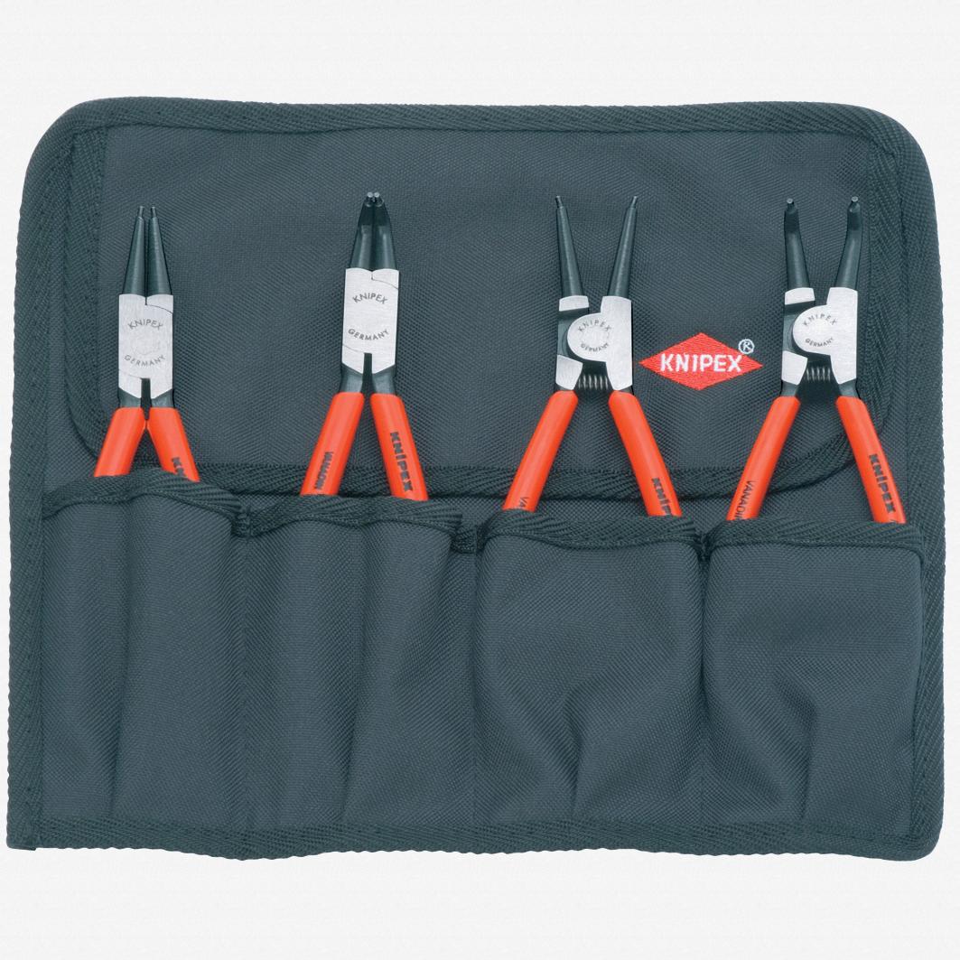 Knipex 00-19-56 4 Piece Circlip Pliers Set - KC Tool