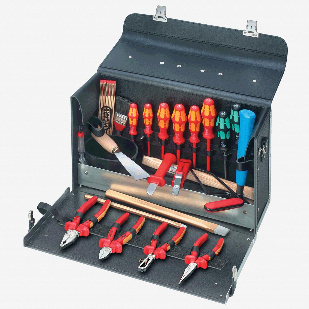Knipex 00-21-01-TL 24 Piece Electrical Contractors Tool Bag Set - KC Tool