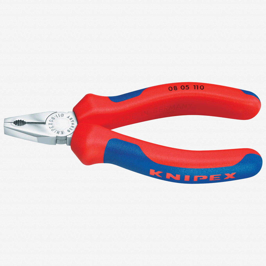 "Knipex 08-05-110 4.3"" Mini Combination Pliers - KC Tool"