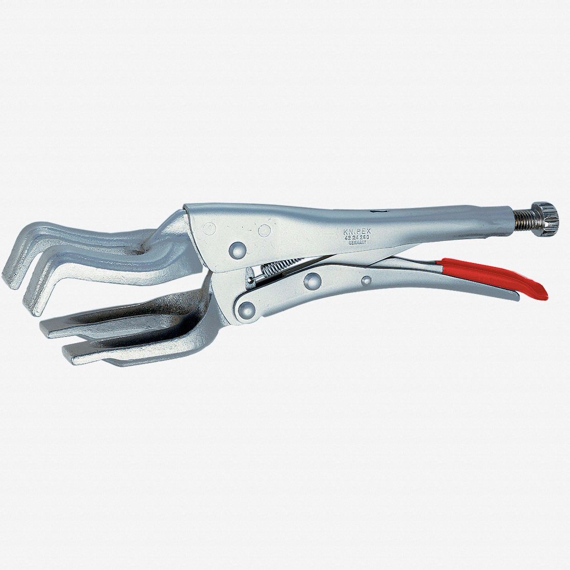 Knipex 42-24-280 Welding Grip Pliers (for round or tubular material) - KC Tool