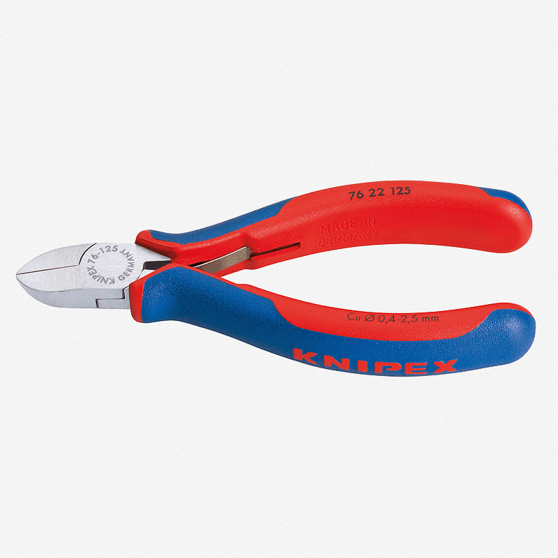 "Knipex 76-22-125 5"" Diagonal Cutters for electromechanics - MultiGrip - KC Tool"