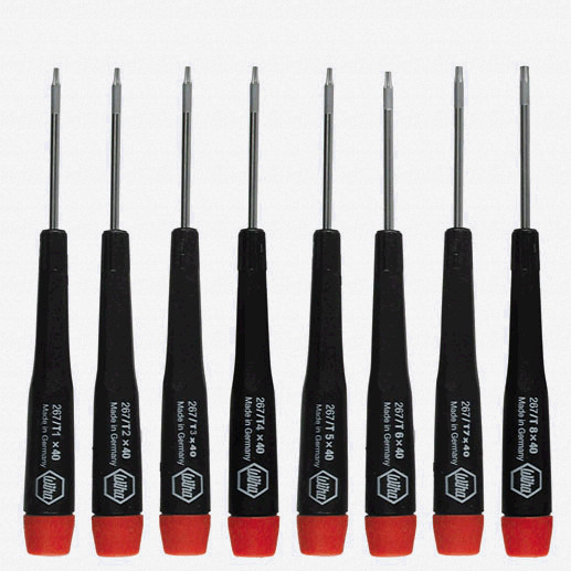Wiha 26791 Precision Torx Screwdriver Set, 8 Pieces - KC Tool