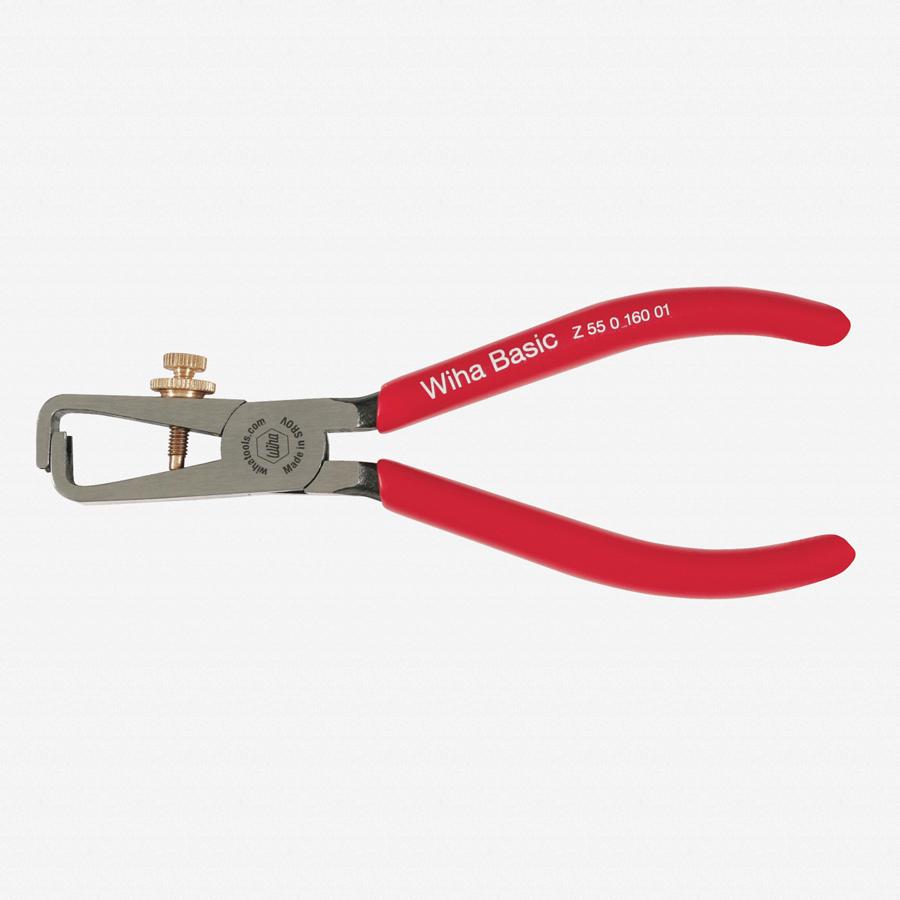 "Wiha 32645 6.3"" Stripping Pliers - Vinyl Grip - KC Tool"