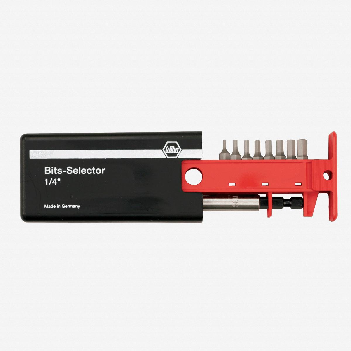 Wiha 79256 8 Piece Hex Metric Bit Selector - KC Tool