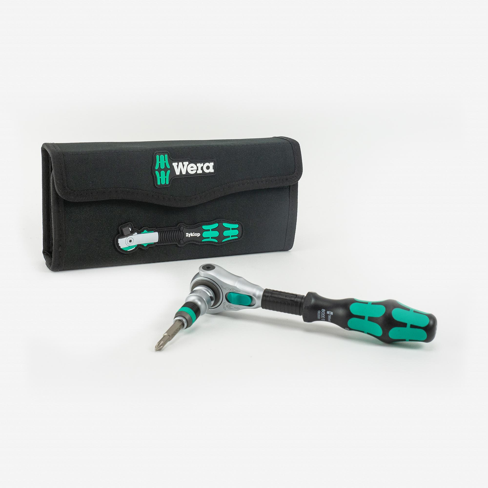 "Wera 004049 Zyklop Speed Ratchet 3/8"" Drive SAE Set - KC Tool"