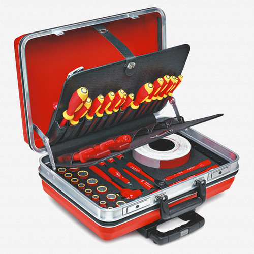 Stahlwille 13300 48 Piece Vde Tool Set With Case
