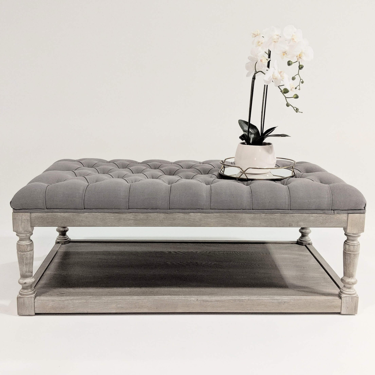 Chesterfield Ottoman Coffee Table 3