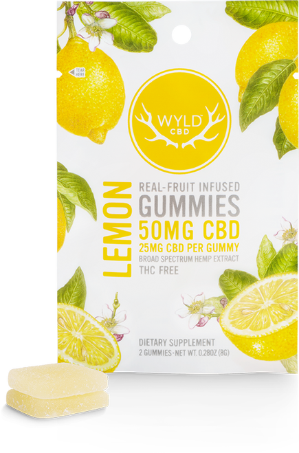Wyld Pouch Lemon 50mg