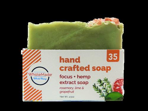 WM  Focus Hemp Soap 35mg