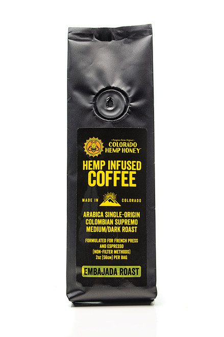 Colorado Hemp Honey Infused Coffee 2 oz