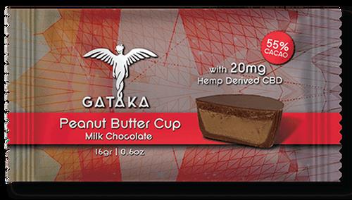 Gataka Peanut Butter Cup Dark Chocolate 20mg