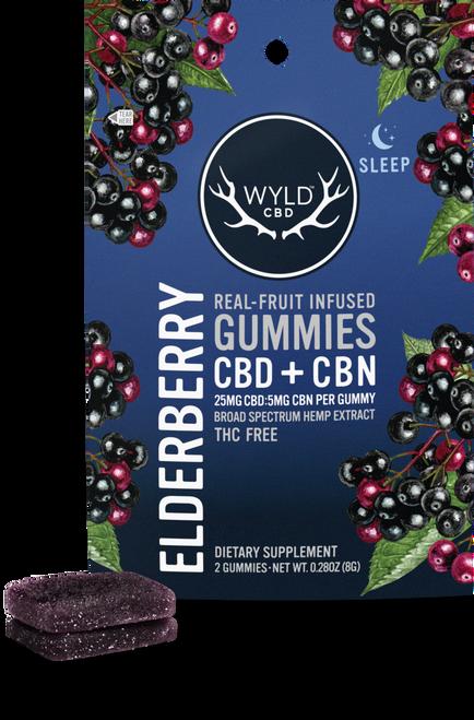 Pouch Elderberry 50mg CBD, 10mg CBN