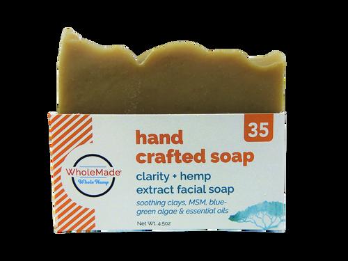 WM  Clarity Facial Hemp Soap 35mg