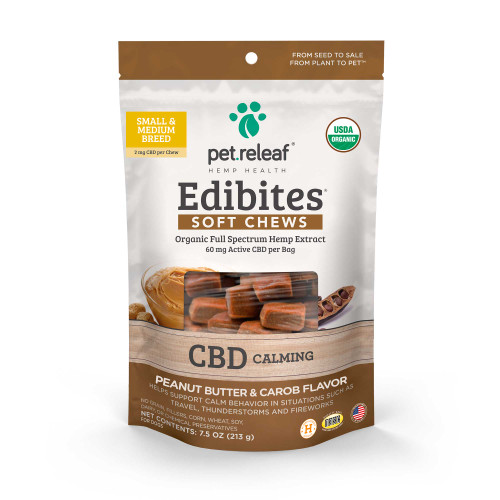 Calming Chews for Dogs- Small & Medium Breeds
