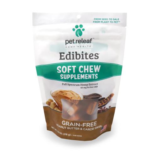 Pet.releaf Soft-Chew Peanut Butter & Carob Swirl