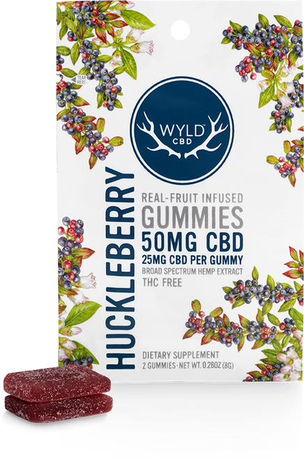 Wyld Pouch Huckleberry 50 mg