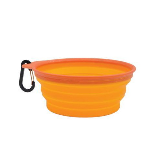 large dog water bowl, collapsible