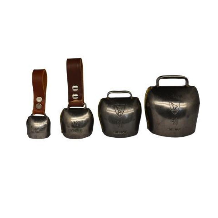 4 Sizes of Handmade Swiss Bells