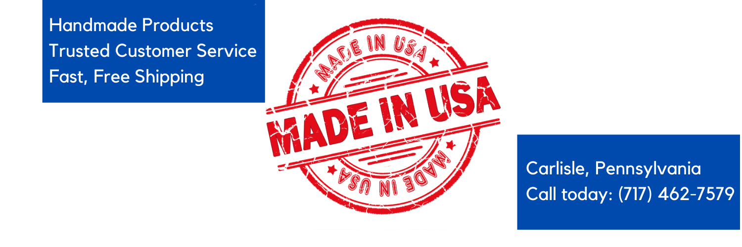 Made in USA badge: Call us Today at 717-462-7579