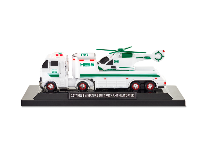 2005 HESS Truck Miniature 2005 Collection Hess Miniature Helicopter New