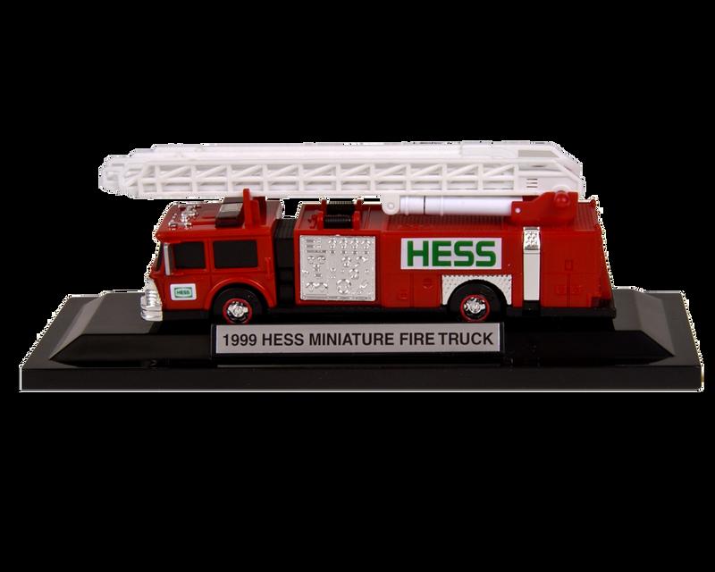 1999 Hess Miniature Fire Truck