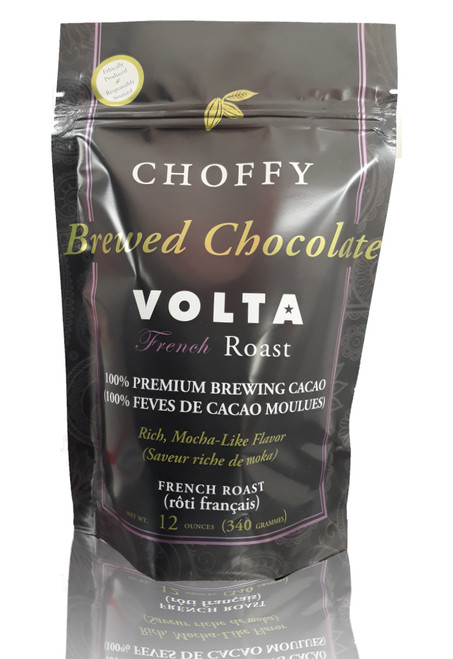 Brewed Chocolate - Volta French Roast - Brewing Cocoa ( Brewed Cacao )