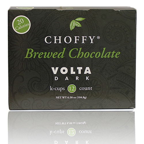 Brewed Chocolate - Volta Dark K.Cups - Brewing Cocoa 9 Brewed Cacao )