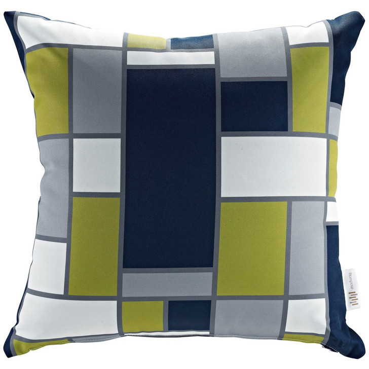 Modway Outdoor Patio Pillow, Multi, Fabric 10362