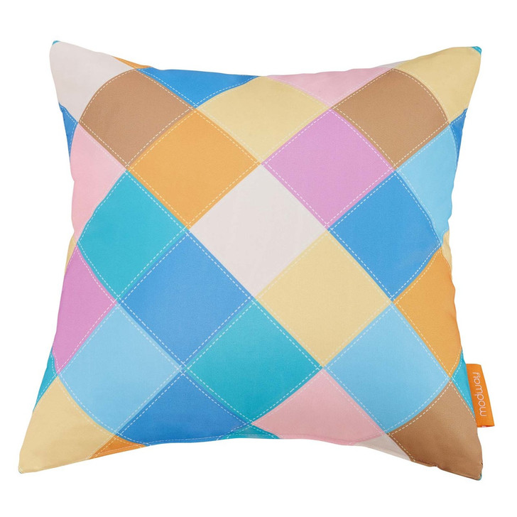 Modway Outdoor Patio Single Pillow, Fabric, Multi Color 13486