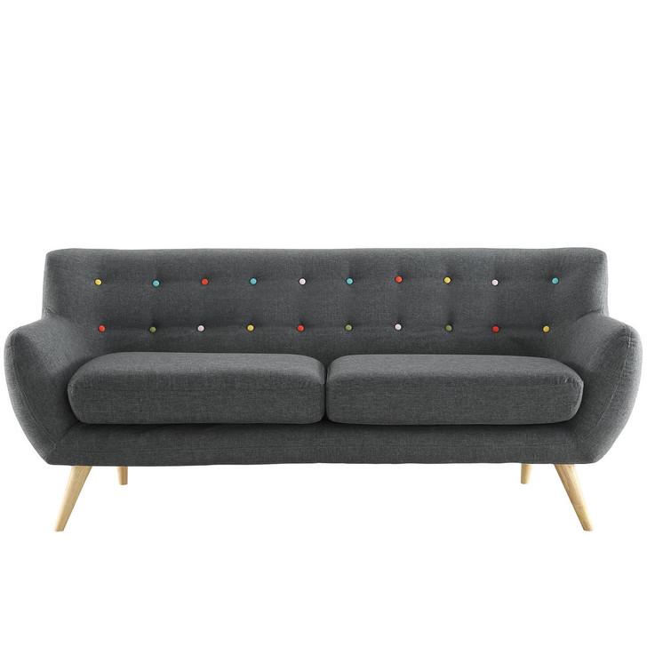 Remark Sofa, Grey Fabric