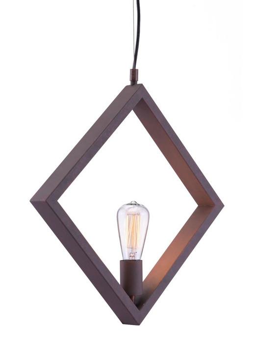 Rotorura Ceiling Lamp, Black, Metal