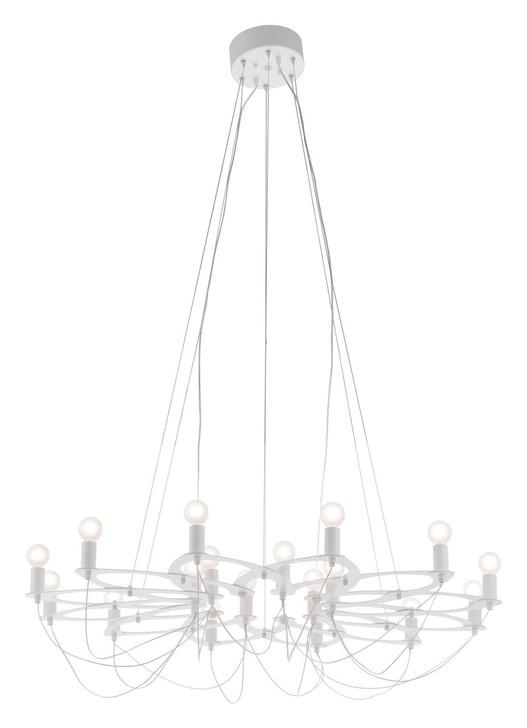 Scala Ceiling Lamp White, Metal
