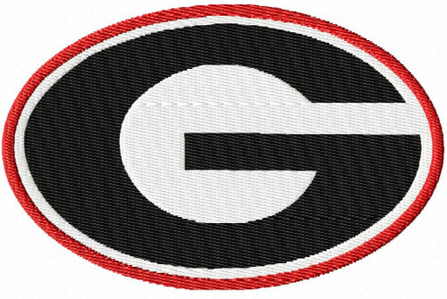 4 Sizes Georgia Bulldogs football team University Sports Embroidery Designs Download