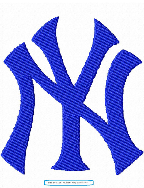 New York Yankees Baseball MLB Machine Embroidery Designs