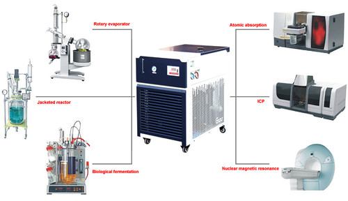 -30°C 10L Recirculating Chiller with 20L/Min Centrifugal Pump