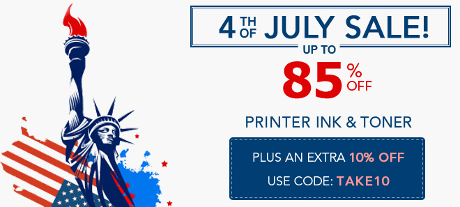 4th of July sale 10% off coupon