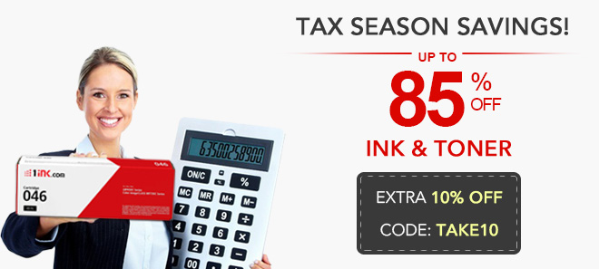 Tax season sale 10% off coupon plus free shipping offer