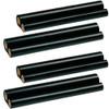 4 Pack - ribbon roll refills for Sharp UX-5CR