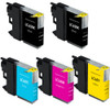 Brother LC65 Combo Set 5-Pack replacement