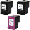 HP 61XL Black and Color 3-Pack replacement