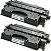 HP 80X - CF280X 2-pack replacement