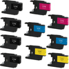 Brother LC79 Set 10-pack replacement