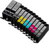 Canon PGi-270XL and Cli-271XL Ink Cartridge Set - 12-Pack