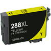 Epson 288XL Ink Cartridge, Yellow, High Yield