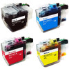 Brother LC3019 Ink Cartridge, Super High-Yield, 4-Pack